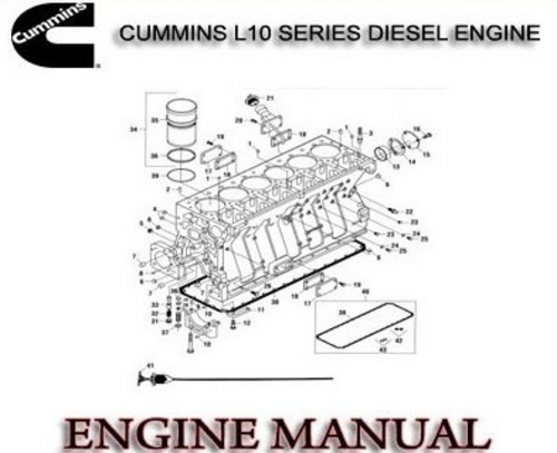 Cummins L Series Diesel Engine External Damper Models repair manual