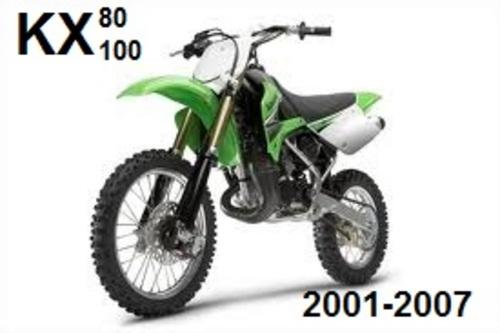 kawasaki kx85 kx100 trailbike 2001 2007 workshop manual download rh tradebit com KX 250 Kawasaki KX 500