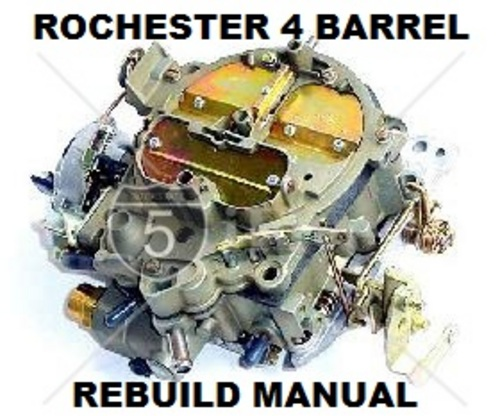 Pay for HOLDEN CHEV ROCHESTER QUADRAJET CARBY REBUILD MASTER MANUAL