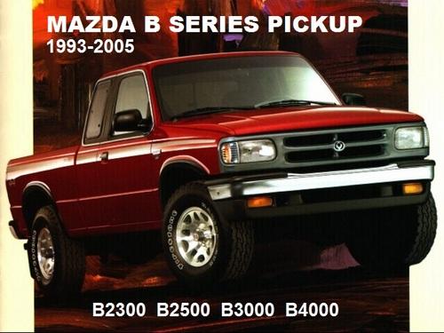 Mazda B2300 B2500 B3000 B4000 1995