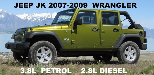 jeep wrangler jk 2007 2008 2009 service repair manual. Black Bedroom Furniture Sets. Home Design Ideas