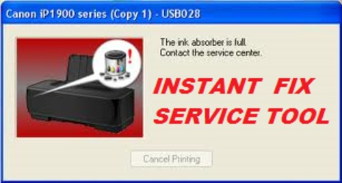Pay for CANON PIXMA IP4900 IP4950 SERVICE TOOL INK ABSORBER FULL FIX
