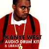 Thumbnail KANYE WEST drum samples WAV LIBRARY KIT MPC *download*