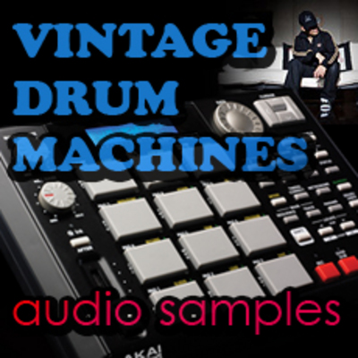 VINTAGE DRUM MACHINES wav samples MPC LIBRARY KIT *download*