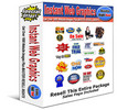 Thumbnail Instant 1600 Web Graphics Package (Resell Rights)