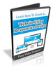 Thumbnail Learn How to Create a Website Using Responsive Design - Resell Rights