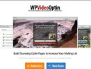 Thumbnail Wordpress Video Optin - Video Background Squeeze Pages - PLR WP Plugin