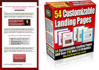 Thumbnail 50+ Landing Page Templates 200+ Graphics PLR