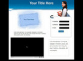 Thumbnail 5 Video Squeeze Page Templates + Resale Rights