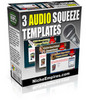 Thumbnail 3 Audio Sqeeze Pages + With 3 Different Audios Included + PLR