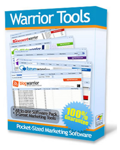 Pay for New Warrior Tools - 5 Tops Internet Marketing Tools + MRR