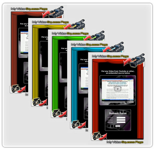 Pay for 20 Video Squeeze Page Templates PSD´s Included (PLR)
