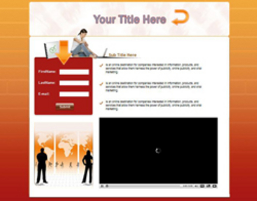 Pay for 5 Video Squeeze Page Templates + Resale Rights