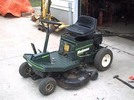Thumbnail Bolens Rear Engine Riding Mower Master Parts Manual