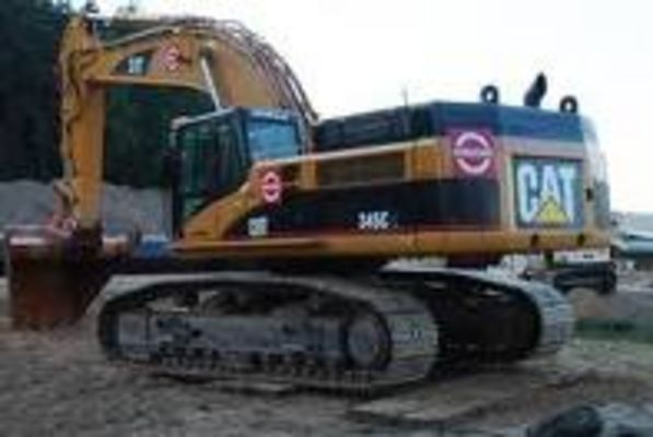 Pay for Caterpillar 345B excavator electrical system