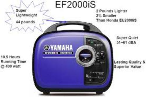 Yamaha inverter generator ef2000is master service manual for Yamaha motor credit card