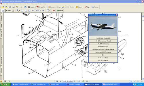 Pay for Piper Dakota PA28-236 maintenance manual service repair