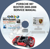 Thumbnail Porsche 987 Boxster 2005-2008 Workshop Service Repair Manual