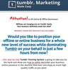 Thumbnail Tumblr Biz in a Box PLR + Bonus Software