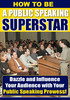 Thumbnail Public Speaking Superstar PLR E-Book + Website + Bonus