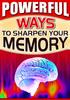 Thumbnail Sharpen Your Memory PLR E-Book + Website + Bonus Software