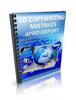Thumbnail 10 Copyrighting Mistakes PLR E-Book + Website + Bonus