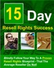 Thumbnail 15 Day Resell Rights Profit PLR E-Book + Website + Bonus