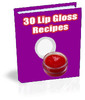 Thumbnail 30 Lip Gloss Recipes PLR ebook + Website + Bonus