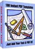 Thumbnail 100 Instant PDF Templates + Website + Bonus