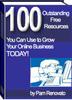 Thumbnail 100 Free Resources PLR E-book + Website + Bonus
