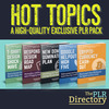 Thumbnail 5 Hot Topics PLR E-books + Websites + Bonus Software