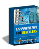 Thumbnail 122 Power Tips For Resellers PLR E-book + Website + Bonus