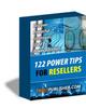 Thumbnail 122 Power Tips For Resellers PLR E-book + Website + Bonus