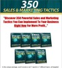 Thumbnail 350 Sales and Marketing Tactics PLR E-book + Website + Bonus