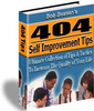 Thumbnail 404 Self-Improvement Tips PLR E-book + Website + Bonus