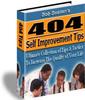 Thumbnail 404 Self-Improvement Tips PLR E-book + Website + Bonus