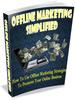 Thumbnail Offline Marketing Simplified PLR E-book + Website + Bonus