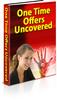 Thumbnail One Time Offers Uncovered PLR E-book + Website + Bonus