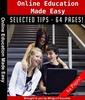 Thumbnail Online Education Made Easy PLR E-book + Bonus