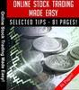 Thumbnail Online Stock Trading Made Easy PLR E-book + Bonus