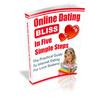 Thumbnail Online Dating Bliss PLR E-book + Website + Bonus Software