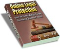 Thumbnail Online Legal Protection PLR E-book + Website + Bonus