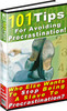 Thumbnail Avoiding Procrastination MRR E-Book + Website + Bonus