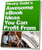 Thumbnail Awesome Ebook Ideas MRR E-Book + Website + Bonus