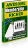 Thumbnail Awesome Membership Riches MRR E-Book + Website + Bonus