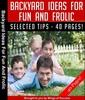 Thumbnail Backyard Ideas for Fun and Frolic MRR E-book + Bonus