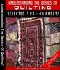 Thumbnail Basics Of Quilting MRR E-Book + Bonus