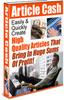 Thumbnail Article Cash MRR E-Book + Website + Bonus