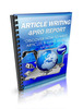 Thumbnail Article Writing 4Pro MRR E-Book + Website + Bonus