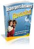 Thumbnail Aspergers Answers MRR E-Book + Website + Bonus